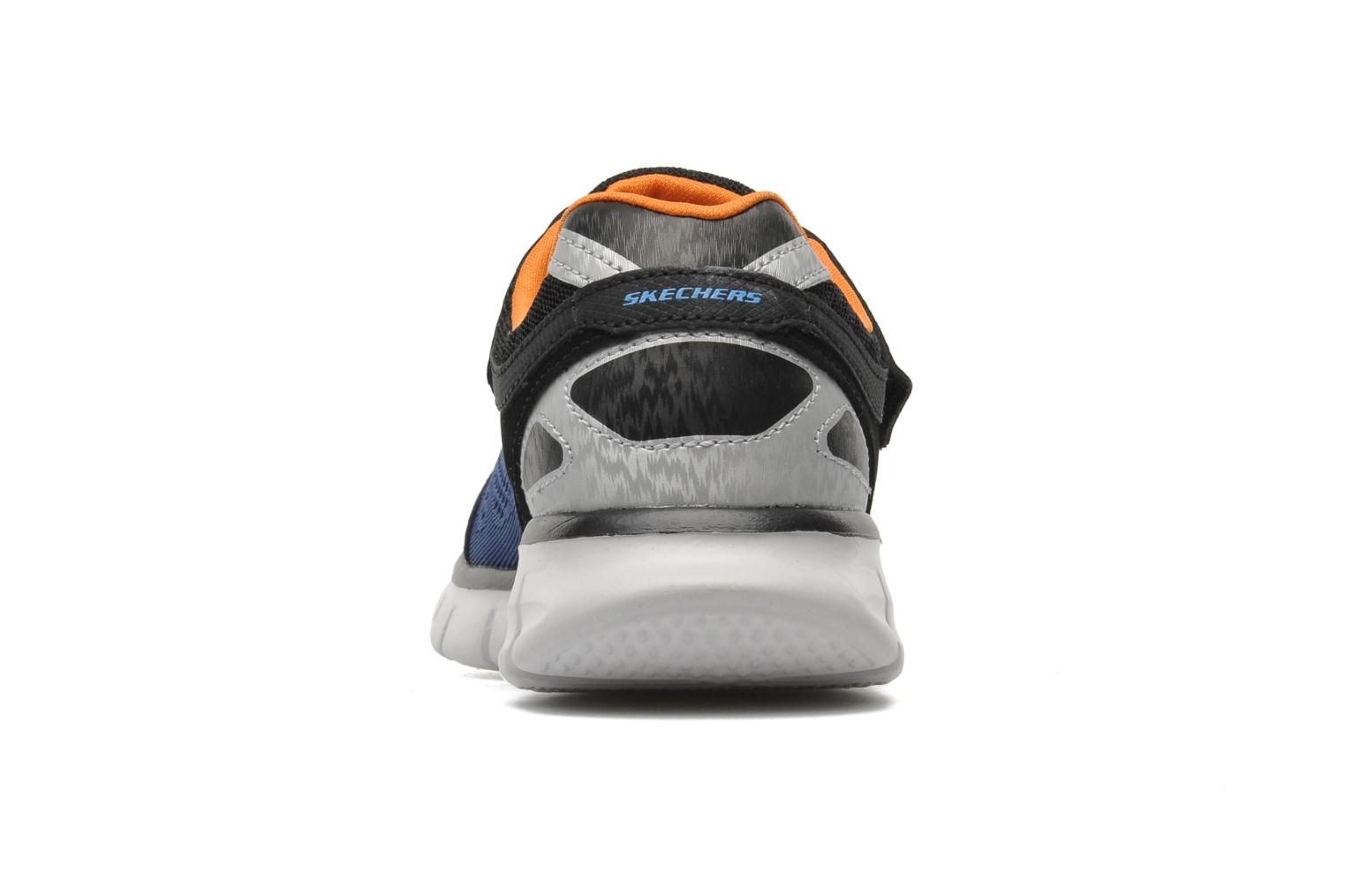 Baskets Skechers Synergy Power Rush Bleu vue droite